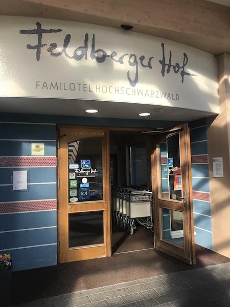 Feldberger Hof Familotel Eingang