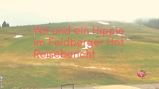 Wir und ein Hippie im Feldberger Hof