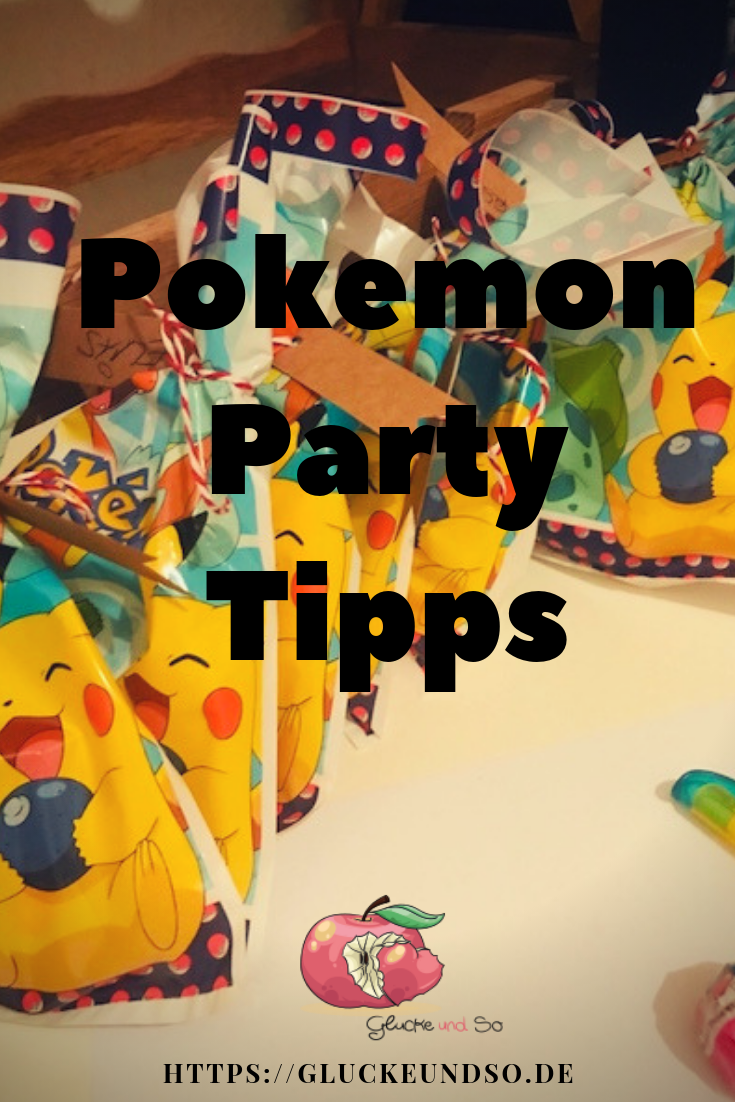 Pokemon Party Tipps Pinterest