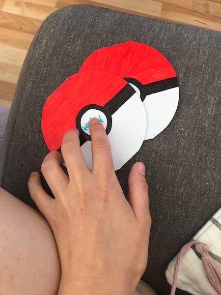 pokemon partytipps-einladung aufklappbar