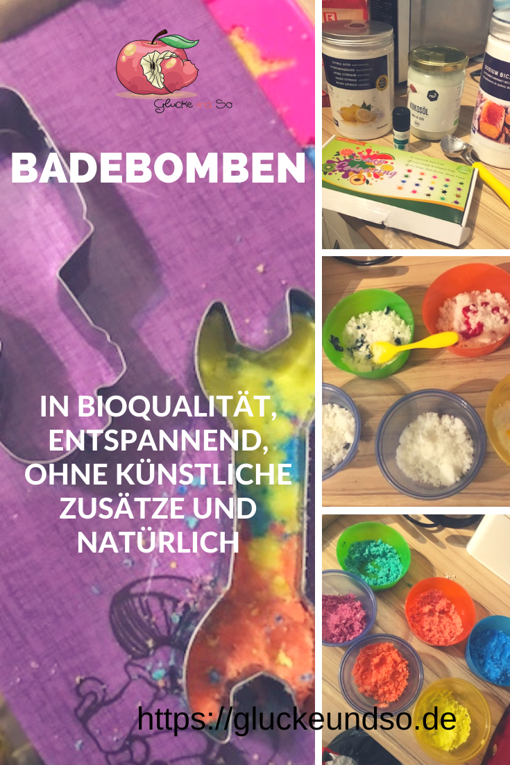 Adventskalender 2019 DIY Badebomben