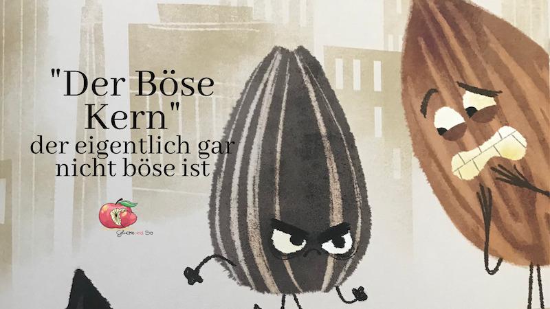 sonnenblumenkern schaut böse kinderbuch